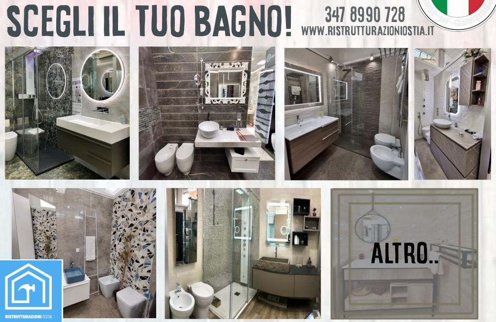 OFFERTA: Ristrutturazione Bagno Completo Roma - 3500 Euro!