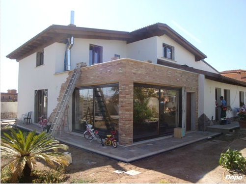 Ristrutturazioni roma esterni edilizia livio for Ingressi esterni di ville